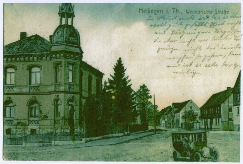 Villa Flintzer, Postkarte1