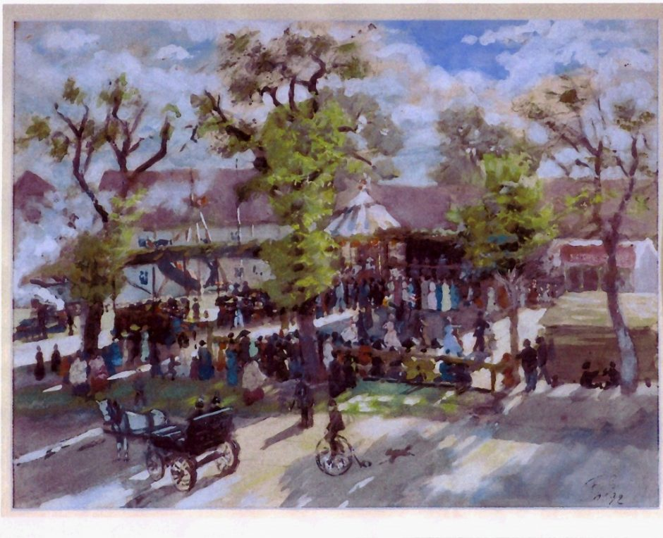Kirmes 1890