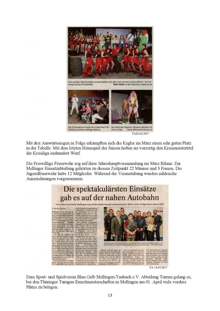 Jahresbericht Mellingen 2017, Doris Erbse-013