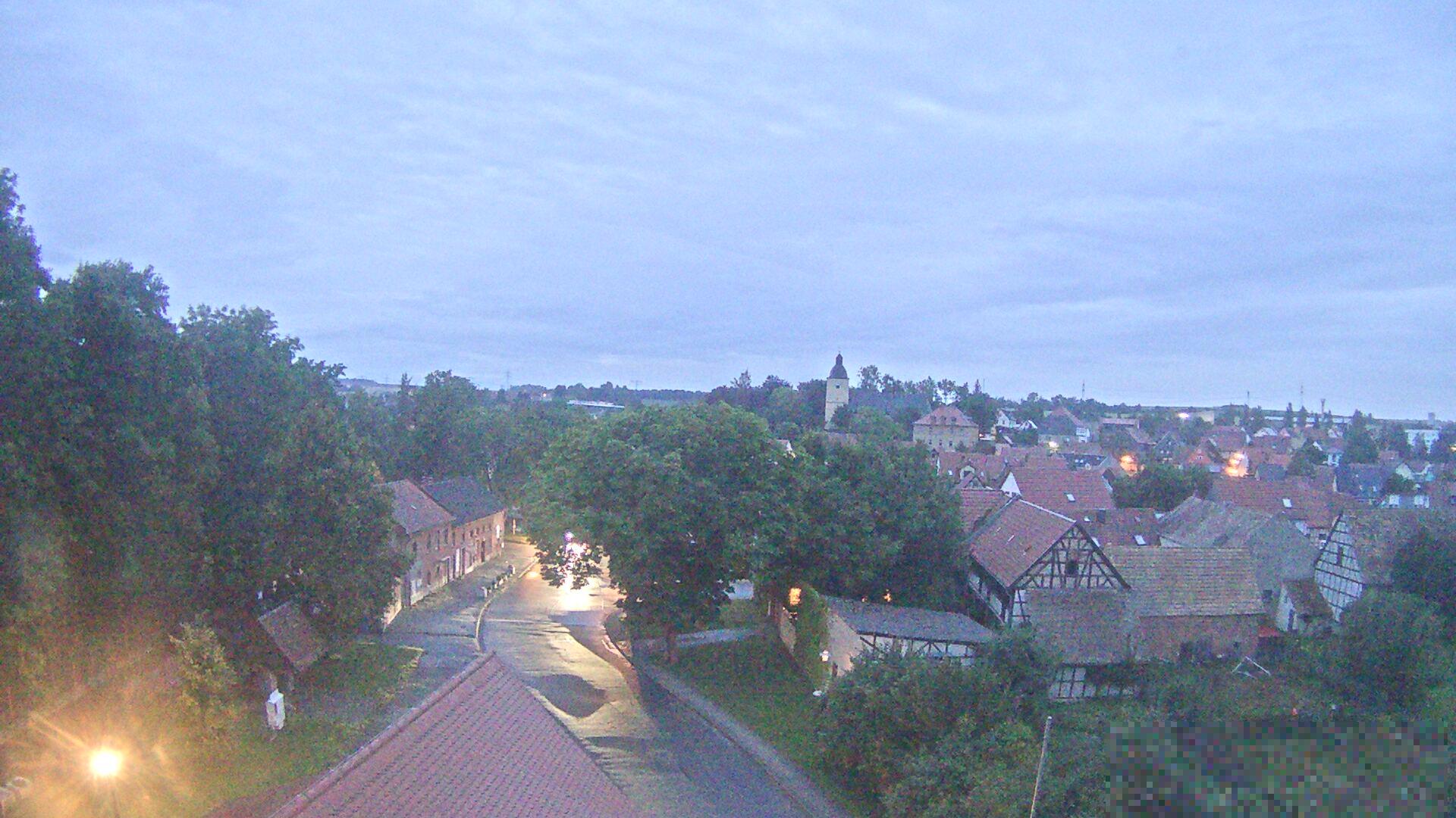 Die Webcam der Gemeinde Mellingen
