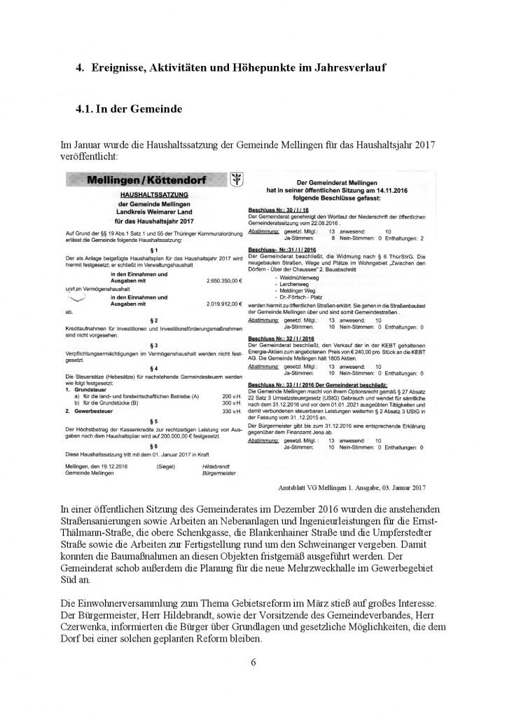 Jahresbericht Mellingen 2017, Doris Erbse-006