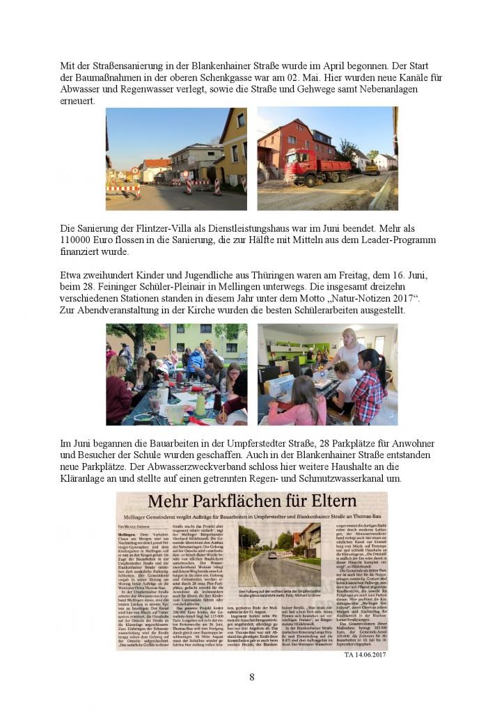 Jahresbericht Mellingen 2017, Doris Erbse-008