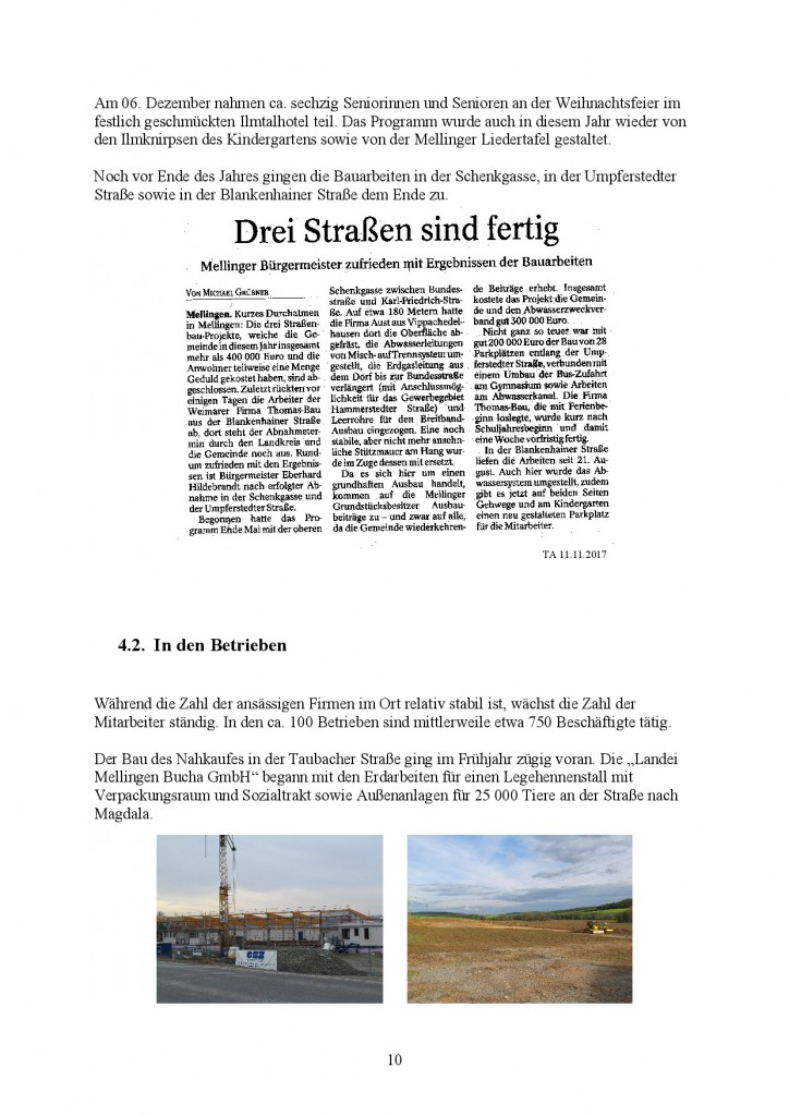 Jahresbericht Mellingen 2017, Doris Erbse-010