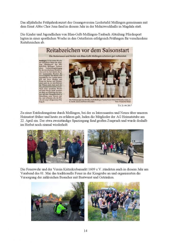 Jahresbericht Mellingen 2017, Doris Erbse-014